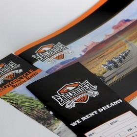 High end customer retail magazine print production