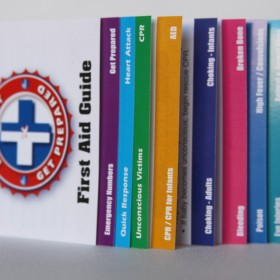 First Aid pack design, print and production