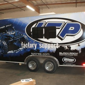 ITP fleet branding by AGRetail