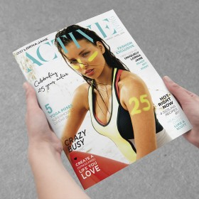 Lorna Jane Active lifestyle magazine digital printing