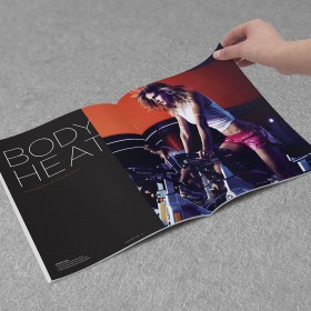 Lorna Jane Active Magazine litho print and production