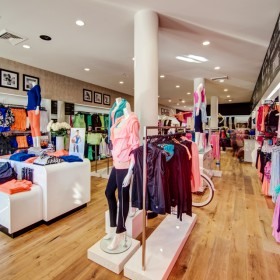 Retail interior graphics and POP across North America'