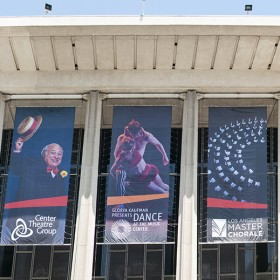 High impact building banners