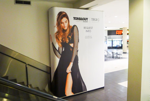 agretail are experts in retail barricade graphics for stores nationwide