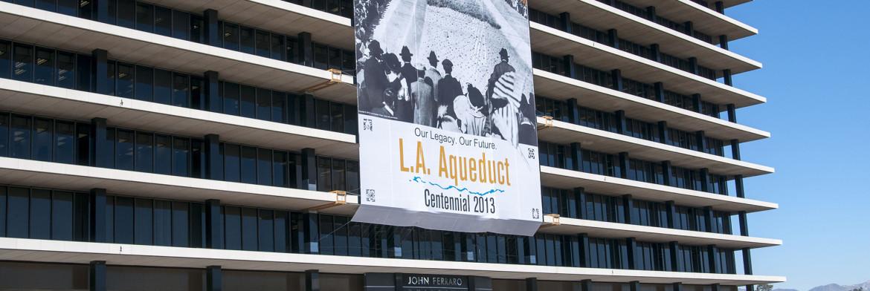 LA Building Banner