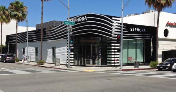 Sephora Beverly Hills Drive Storefront