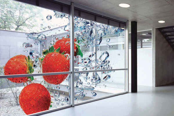 bold exciting retail design window graphics