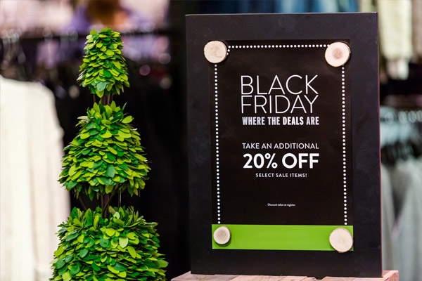 black friday retail promotion graphics from AGRetail