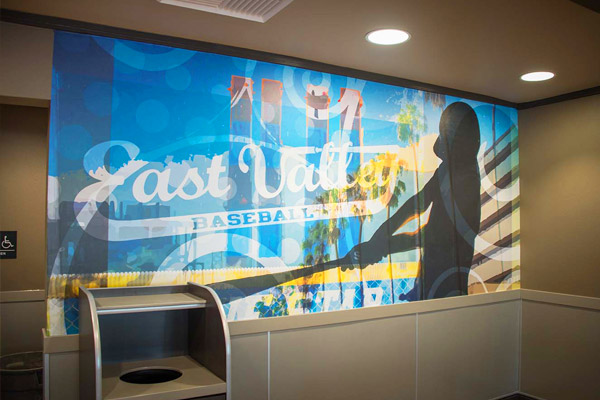 agretail custom wall coverings for restaurants
