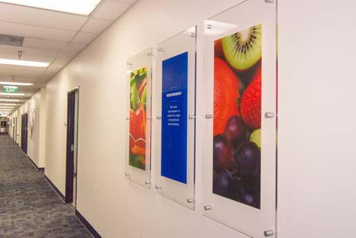 Hussmann Corporate Office Wall Art
