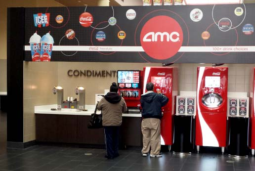 amc theatres custom printed graphics and signage