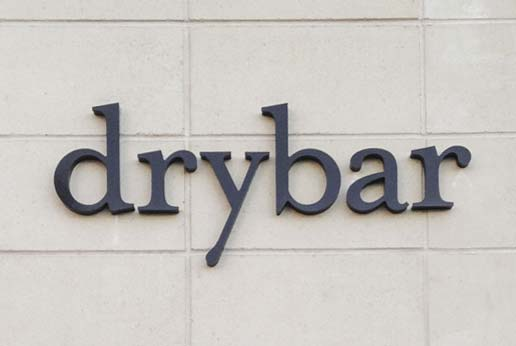 Dry Bar Pin Letter External Signage