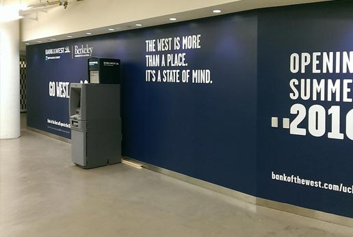 Bank of the West Barricade Graphics