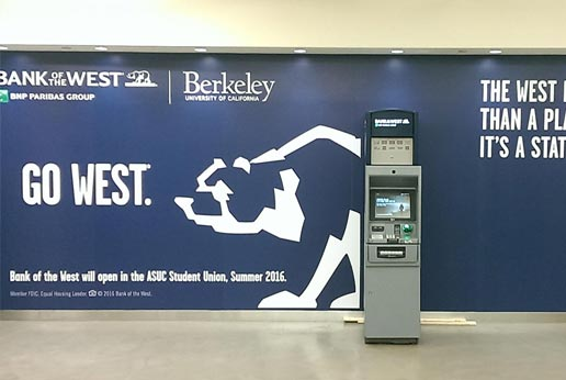 Bank of the West Retail Barricade Graphics
