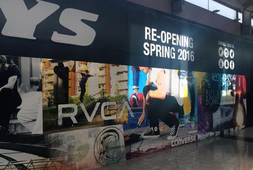 tillys barricade graphics for new store opening soon
