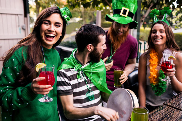 St Patricks Day retail promotions
